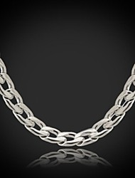 U7® Never Fade Men's Link Cuban  Chain Necklace For Men 316L Titanium Steel 5MM 18Inches (46CM) Christmas Gifts