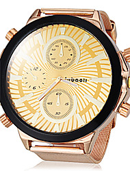 cheap -JUBAOLI Men's Quartz Wrist Watch Hot Sale Alloy Band Charm Gold