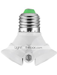 cheap -E27 to 2xE27 LED Bulbs Socket Adapter High Quality Lighting Accessory