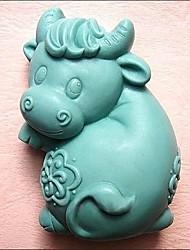 Cow Formet Bake Mold, W10.2cm x L6.8cm x H3.7cm