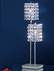 60 Modern/Comtemporary Table Lamp , Feature for Crystal , with Chrome Use On/Off Switch Switch