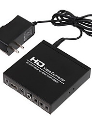 cheap -Scart +HDMI to HDMI Converter