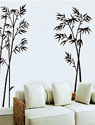 Tuschmalerei Bambus-Muster Wandaufkleber (1pcs)