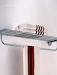 baratos -Aço inoxidável prateleira do banheiro com forma de arco Bar Toalha