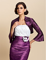 cheap -Taffeta Wedding Party Evening Casual Wedding  Wraps Coats / Jackets