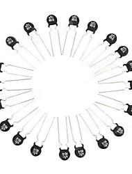 Недорогие -NTC 8D-9 Термисторы Set - черный + серебро (20 шт)