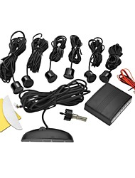 DYW-L061  0.6 Inch LED Digital Display Parking Sensor with Six Probes - Black