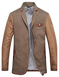 cheap -Men's Chic & Modern Blazer-Striped