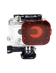 Protective Case Dive Filter For Action Camera Gopro 5 Gopro 3 Gopro 2 Boating Kayaking Wakeboarding Diving & Snorkeling Surfing/SUP