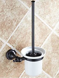 cheap -Toilet Brush Holder Removable Antique Brass Ceramic 1 pc - Hotel bath