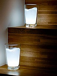 cheap -Coway Creative White Milk Cup Lamp Bedside Lamp LED Lamp Lights