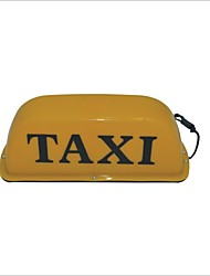 Carking™ Magnetic Base Taxi Cab Roof Sign Lamp Yellow Light-12V