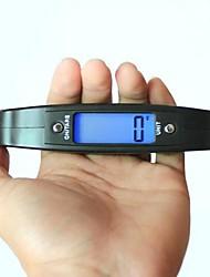Недорогие -цифровой портативный электронные весы 50кг / 10g, пластик 12x7x2cm