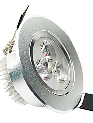 cheap -3W LED Ceiling Lights Recessed Retrofit 3 High Power LED 200 lm Cool White AC 100-240 V
