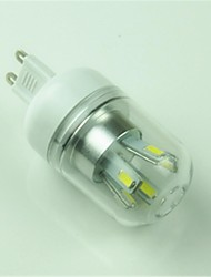 G9 LED Corn Lights T 10 SMD 5730 400lm Cold White 6000-6500K Decorative AC 85-265V