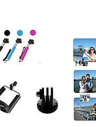 お買い得  -アクセサリー 一脚 三脚 取付方法 高品質 ために アクションカメラ Gopro 5 Gopro 3+ Sport DV Gopro 3/2/1 Other