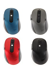 cheap -Fashion Pot-bellied 6 Button 2.4GHz Wireless Optical Mouse for Home or Office Use (Assorted Colors)