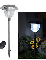 baratos -Controle Remoto 5 LEDs Cor Solar Mudando Lawn Luz Caminho Jardim Lamp