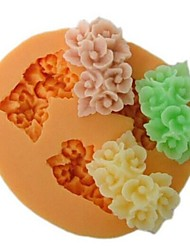 cheap -Mold Flower For Chocolate For Pie For Cake Silicone Eco-friendly DIY Thanksgiving