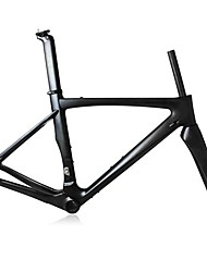 cheap -Road Frame Full Carbon Bike Frame 700C Glossy 3K Glossy / 3K Matt cm inch