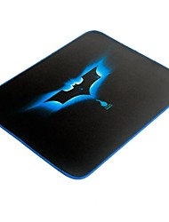 New Blue Bat Gaming Mouse Pad Locked Edge (12X10 Inch)