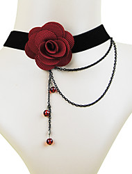 Coolshine della sposa damigella d'onore del merletto della perla della collana-2014-201-LS003