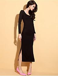 economico -Per donna Moderno Vestito - Moderno, Tinta unita