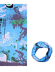 cheap -KORAMAN Neck Gaiter Neck Tube / Headsweat Spring / Summer / Fall Windproof / Ultraviolet Resistant / Wearable Camping / Hiking / Climbing / Cycling / Bike Men's / Women's / Unisex Polyester Stripe