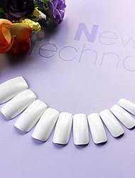 abordables -500PCS Mixs Tamaño Completo Nail Art Tips (colores surtidos)