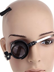 cheap -15X Eye-Clamp-Free LED Clock Repair Loupe Magnifier (2 x CR1620)