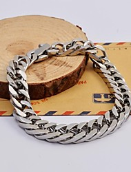 cheap -Fashion Men's High Quality Titanium Steel Horsetail Whip Bracelets Christmas Gifts