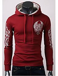 sameul muške hoodie cvjetni print plašt runo