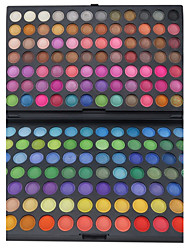 cheap -168 Eyeshadow Palette Matte / Shimmer Eyeshadow palette Powder Large Party Makeup