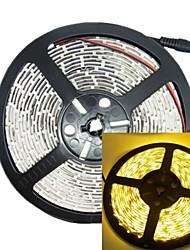 5m 30w 300LED 3528smd 635-700nm DC12V IP68 luz de tira impermeável amarelo