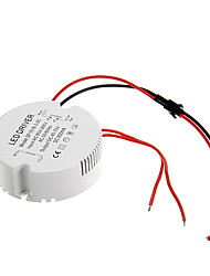 cheap -0.3A 15-18W DC 40-70V to AC 85-265V Circular External Constant Current Power Supply Driver for LED Ceiling Lamp
