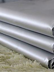 Недорогие -две панели классические серые твердого ПВХ занавес подкладка шторы портьеры