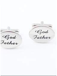 "cheap -Men's Party/Evening Groom/Groomsman ""God Father"" Brass Cufflinks"