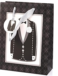 cheap -Cuboid Card Paper Favor Holder With Favor Bags Gift Boxes-1 Wedding Favors