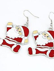 economico -Babbo Natale orecchini claus