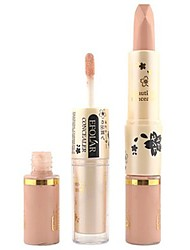 billige Concealer & kontur-Ensfargede Flytende Concealer / Contour Tørr / Våt / Glans Bleking / Fukt / Concealer Ansikt Sminke kosmetisk