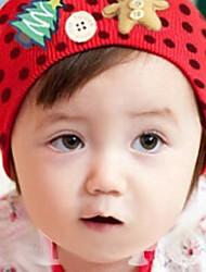 baratos -Para Meninas Para Meninos Capéus e Bonés Inverno Algodão Vermelho Azul Rosa claro