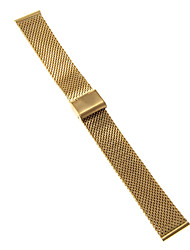 Men's Women's Watch Bands Stainless Steel #(0.047) #(16.5 x 2 x 0.3) Watch Accessories