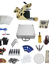 abordables -Machine à tatouer Kit de tatouage professionnel - 1 pcs Machines de tatouage, Professionnel Mini source d'alimentation Boîtier Inclus 1 machine de tatouage x alliage pour la doublure et l'ombrage