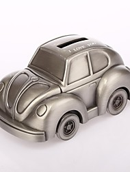 cheap -Personalized  Ring Bearer Car Ashbury Metal Piggy Bank Wedding Gifts