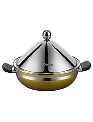 Debo® Dia 26cm(10.2inch) Stainless Steel Steamer Stock Pot