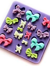 Lovely Bowknot Mold For Cake For Cookie For Pie Silicone DIY Eco-Friendly