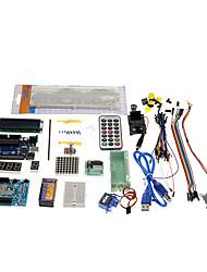 Недорогие -kt0001 r3 комплект обучения UNO стартер для официальных плат Arduino разноцветные