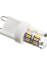 cheap -2W G9 LED Corn Lights T 27 leds SMD 3014 180-200lm Warm White Decorative AC 220-240