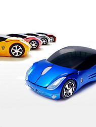 cheap -silent creative car Wireless Novelty Mouse 800 3 AAA Battery powered