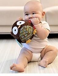 Недорогие -погремушка форма сова ребенок шаровые мягкого хлопка игрушки